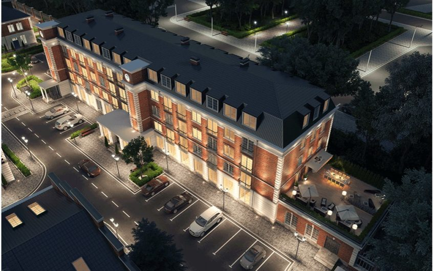 Апартаменты 1502, 2-х комнатная квартира на ул. Викторенко, д.16, стр.1, 5 этаж.