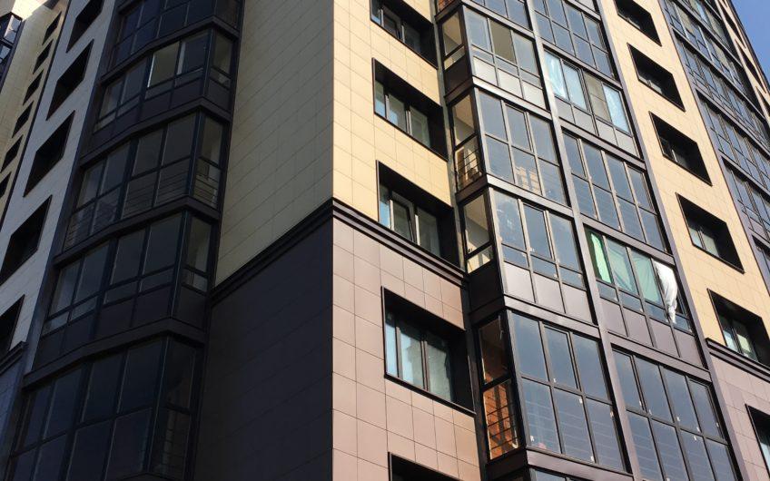 3-х комнатная квартира № 72 (185) на 5-м этаже в ЖК Санрайс