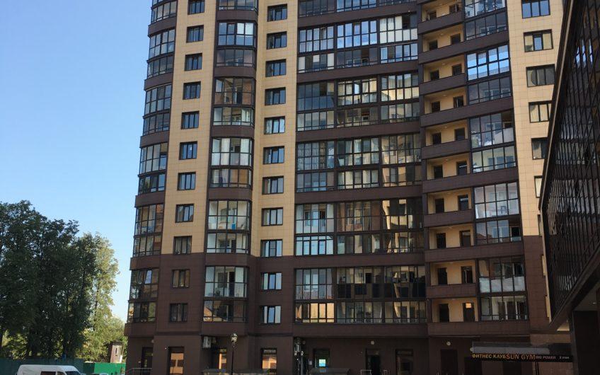 3-х комнатная квартира № 36 (169) на 3-м этаже в ЖК Санрайс