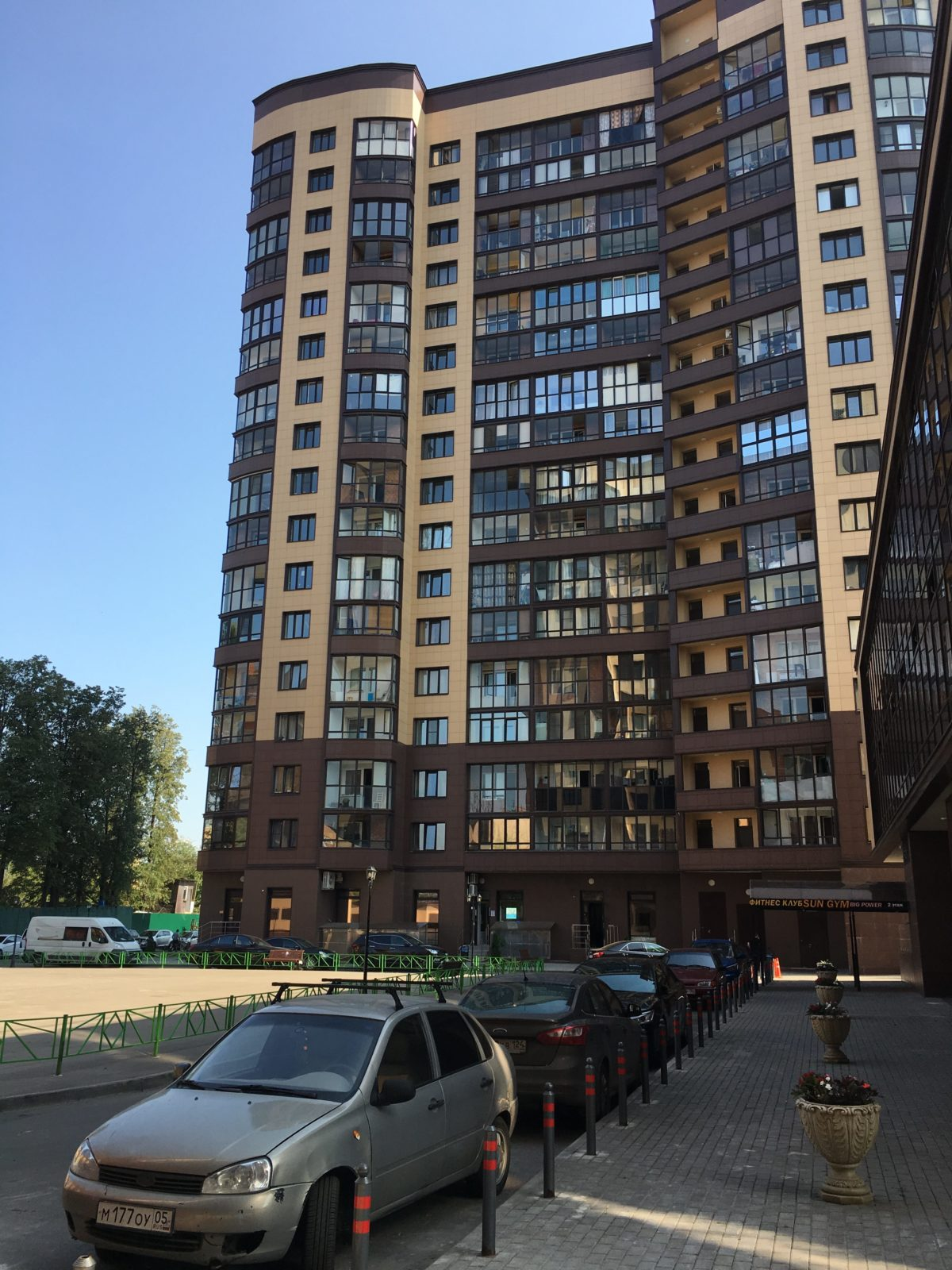 3-х комнатная квартира (№ 235) на 15-м этаже в ЖК Санрайс