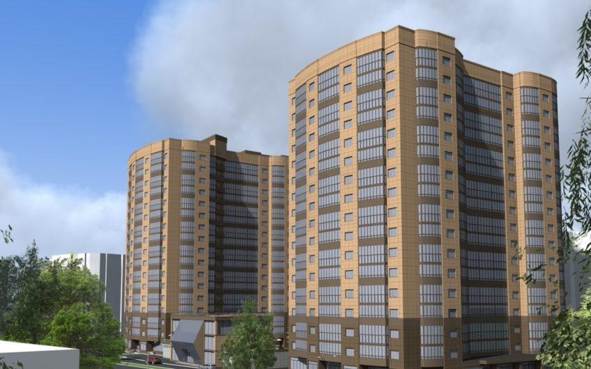1-к комнатная квартира (№ 60) на 5-м этаже в ЖК Санрайс