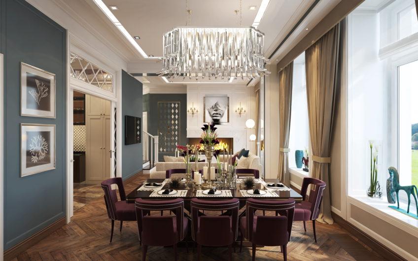 Апартаменты 2116-2217, Эксклюзивная, 2-х этажная квартира на ул. Викторенко, д.16, стр.2