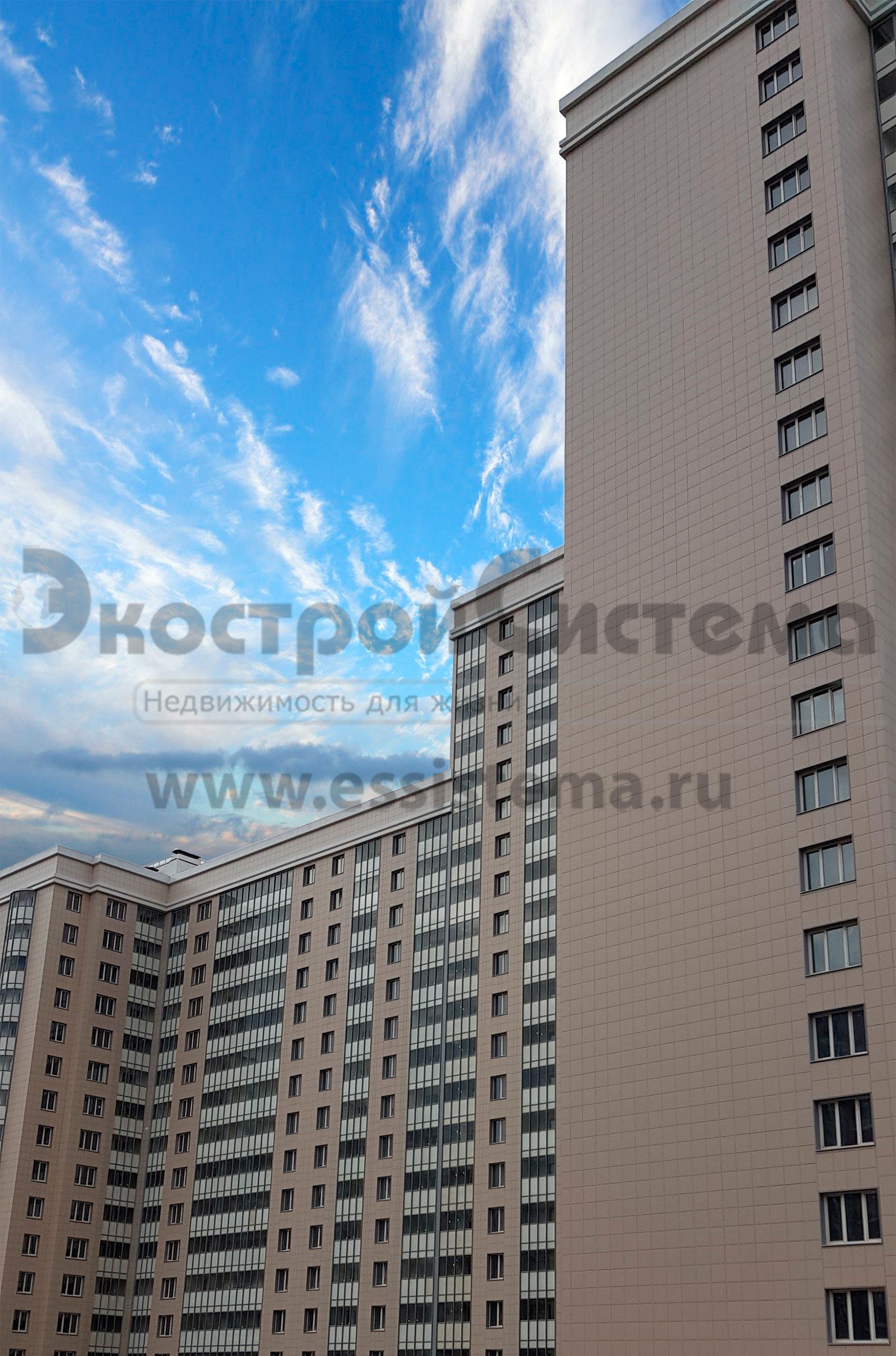 """1-комнатная квартира №348 (секция Д) площадью 43,7 м2 на 12-м этаже в ЖК комфорт-класса """"Сокол"""""""