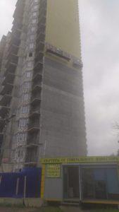 Ход строительства ЖК Олимпийский г.Чехов (Июль)