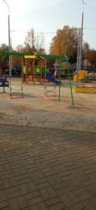 Чехов Октябрь 2020 детская площадка